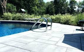 patioore pool patioore larger paving slabs give this pool patio an updated patioore