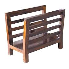 Newspaper rack 1 Pamono Wood Wood Magazine Rack Stand Newspaper Rack Wood Magazine Rack