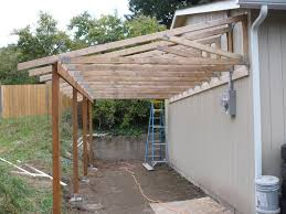 Shed Roof Designs Patio Off Of The Garage Pictures Trusses From The Back You Can