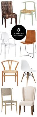 via office chairs. 8 Alternative Desk Chairs For The Stylish Office \u2014 Via @TheFoxandShe