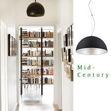 hallway lighting ideas. contemporary hallway black mid century pendant lighting throughout hallway ideas