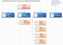 Southern Winery Our Organizational Chart