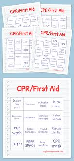 Free Printable First Aid Chart First Aid Cards Printable The O Guide