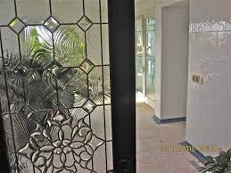beveled leaded glass doors and windows taffeta glass by sans soucie