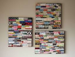 7 diy wall art collages for décor