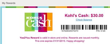 check kohls gift card balance photo 1