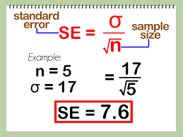 5 Ways to Calculate Mean, Standard Deviation, and Standard Error