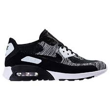 nike shoes air max black 90. women\u0027s nike air max 90 ultra 2.0 flyknit casual shoes black
