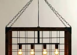 rustic wood globe chandelier riveting white distressed rus