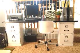 Base Cabinets For Desk Your Crafty Friend Before After Filing Cabinets