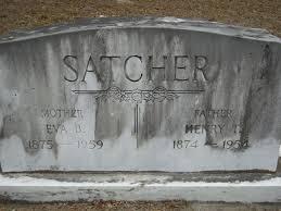Eva Benita Sims Satcher (1875-1959) - Find A Grave Memorial