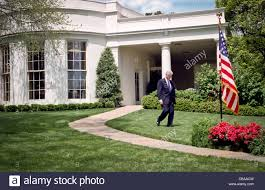 clinton oval office. President Bill Clinton Walks Out From The Oval Office To Address Reporters Behind About His Discussions With Congressional Leaders On A