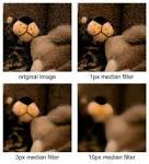 Image Filtering Median Filtering