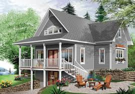 Side Sloping Lot House Plans Walkout Basement House Plans 10018Walkout Floor Plans