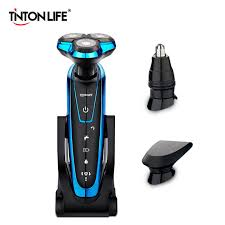 TINTON LIFE <b>Men Washable Rechargeable Electric</b> Shaver Electric ...