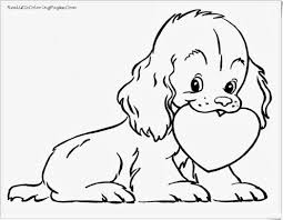 Cute Dog Coloring Pages For Kids Printable Coloring Page For Kids