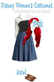 diy ariel little mermaid costume