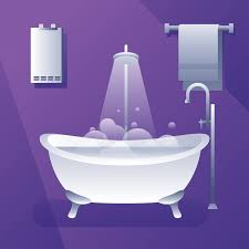 water heater bath tub vector free vector art stock graphics images