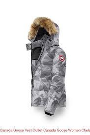 Canada Goose Vest Outlet Canada Goose Women Chelsea Parka Grey Brush Camo