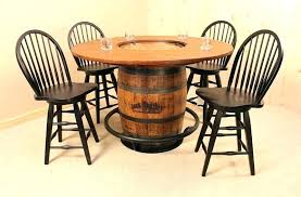 whiskey barrel chair plans wine by