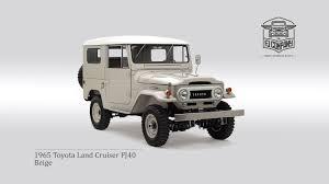 1965 Toyota Land Cruiser FJ40 Beige - YouTube
