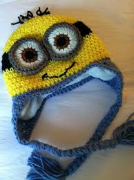 Minion Hat Crochet Pattern Fascinating Lakeview Cottage Kids Minion Earflap Hat FREE PATTERN