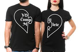Free Couple Shirt Design Maker Couple T Shirt