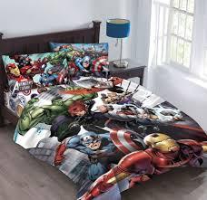 4pc marvel avengers agents of shield full size comforter sheet set ironman hulk