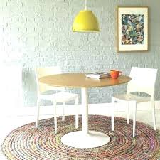 dining table rug round rugs area ideas