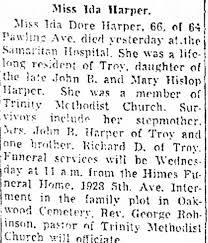 Ida Harper Obituary - Newspapers.com
