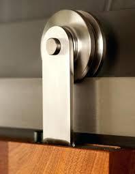 modern barn door flat track sliding hardware in stainless steel sliding barn door track sliding hardware