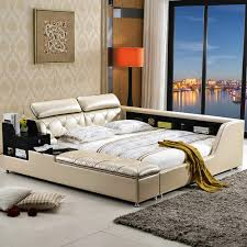 bedroom furniture china china bedroom furniture china. big capacity storage contemporary genuine leather bed modern bedroom furniture made in china
