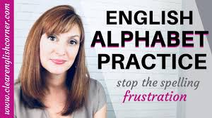 American English Alphabet Chart How To Say English Letters American English Alphabet Pronunciation