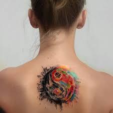 Tetování Jin Jang