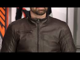 dainese bryan leather jacket review at revzilla com clip fail