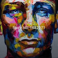 custom artworks skilled artist handmade abstract man portrait oil painting on canvas unique portrait oil painting