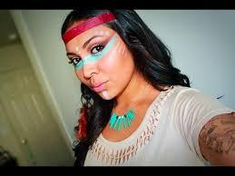 native american inspired makeup tutorial
