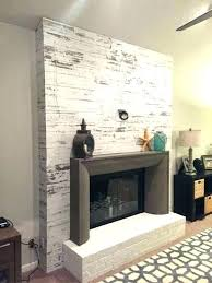how to cover a brick fireplace cover brick fireplace with wood fireplace brick panels cover brick