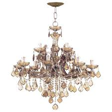 maria collection light antique brass chandelier theresa wiki