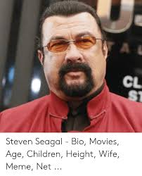 Steven Seagal Emotion Chart Poster
