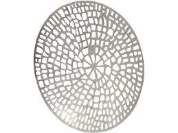 Plaque Textured Round Metal Wall Art Decorations Circle Modern Minimalist  Simple Artistanti Interior
