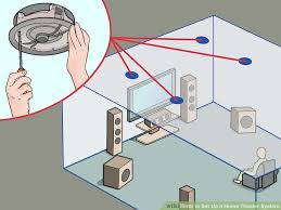 4 ways to set up a home theater system wikihow image titled set up a home theater system step 23