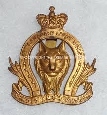 Canadian Light Horse Canada 18th Canadian Light Horse Cap Badge Relic