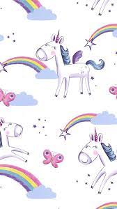 Android Wallpaper Cute Girly Unicorn ...