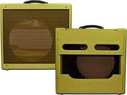narrow panel tweed pro style guitar amplifier combo speaker cabinet