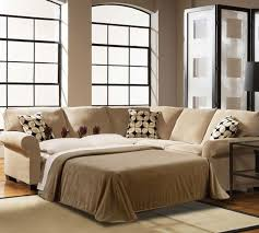 20+ Remarkable Images Small Sectional Sleeper Sofa: Luxurious Light Soft  Brown Small Sectional Sleeper Sofa Basic White Floral Combine   Pinteres