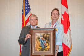 Fish and Wildlife veteran Wendi Weber honored for protecting threatened  species, promoting storm resistance