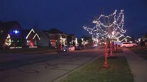 Delaware County Christmas Light Displays Neighborhood Uses Light Display To Raise Funds Awareness