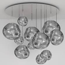 melt mega multi light pendant by tom dixon