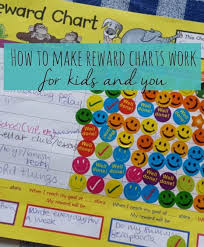 How To Get Kids Reward Charts To Work Kids Rewards Reward